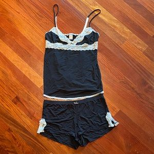 Tank and shorts night set